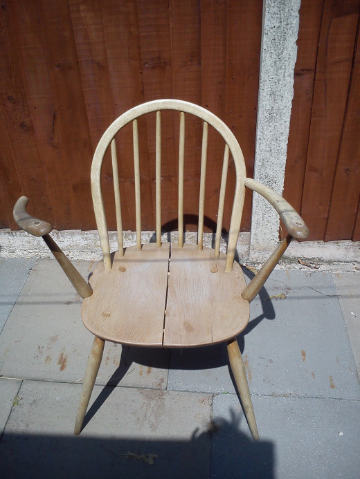 The old chair.