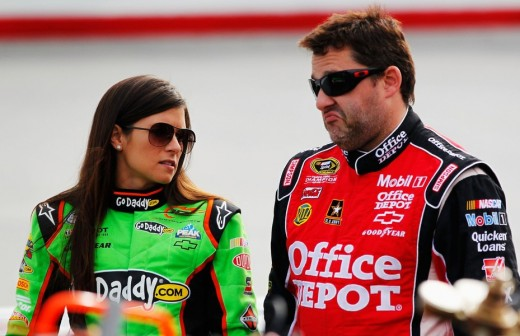 Tony Stewart has coached Danica Patrick on making the transition from open wheel racing, just as he did