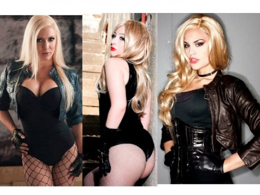 Black Canary Cosplay Costumes