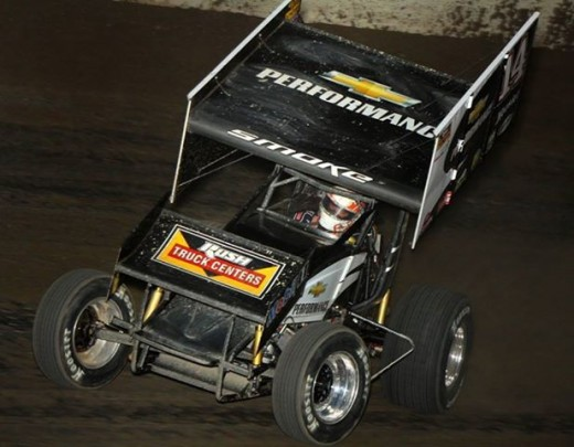 Stewart broke two bones in his leg during a Sprint car race August 5th