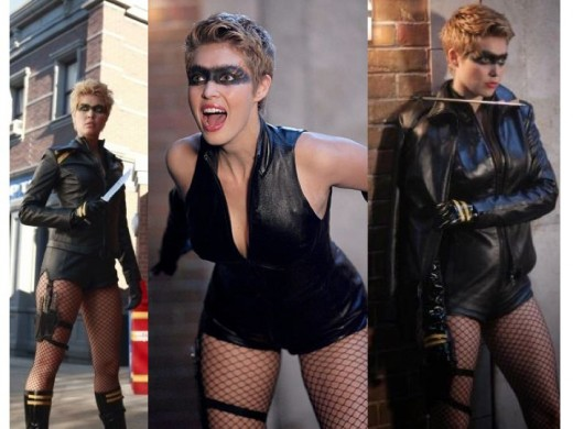 Alaina Huffman as Black Canary in Smallville