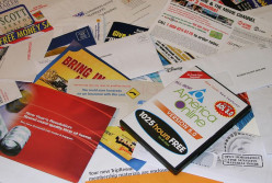 How to stop receiving junk mail through your letterbox