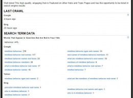 Utilize Hubpags Search Term Data in the Stats section.