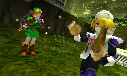 3DS version of Zelda: The Ocarina of Time