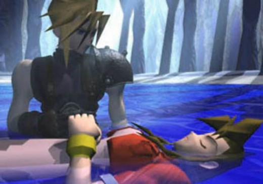 The death of Aeris, considered one of the most tragic and iconic scenes from a video game