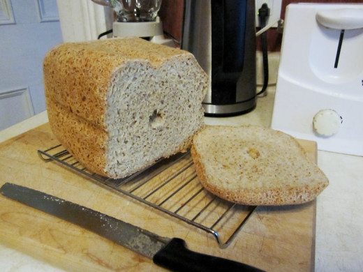 Mmm...fresh-baked bread. Photo by: timorous