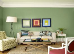 Example of sage green tones.