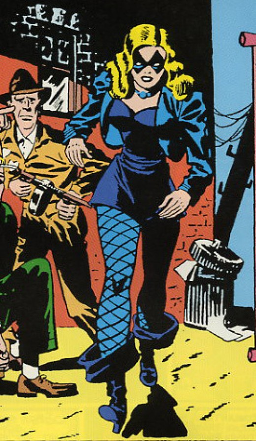 Original Black Canary Costume