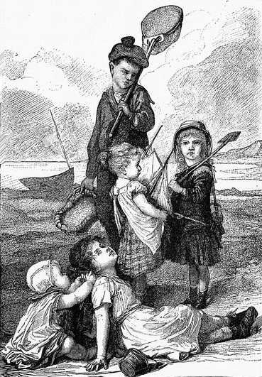 Despite the severe etiquette Victorian children were expected to follow, they nevertheless were as rowdy and cheeky as modern children.
