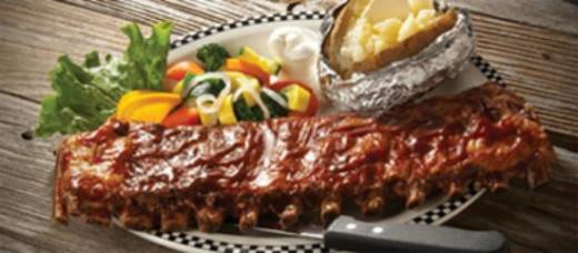 Black Bear Diner Rib Dinner