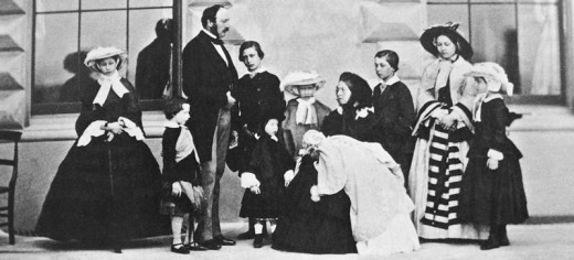 Even royal women had to ensure their manners were impeccable. Often Victorian Royal women were expected to set the standards for the whole country.
