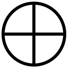 "The image of the ""Gnostic Cross"""