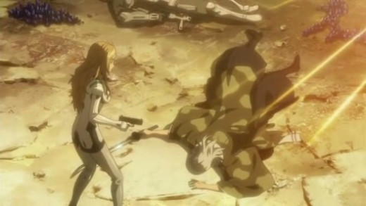 """Arisa killing her grandfather after he attempted to eliminate her to """"cleanse the family name"""""""