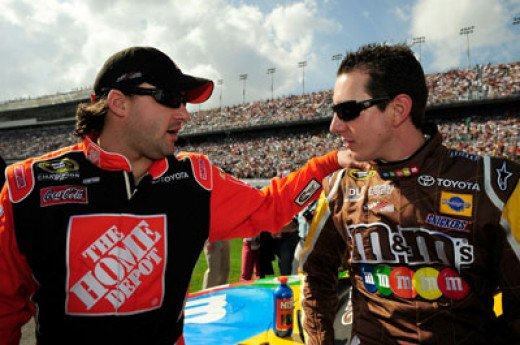 Stewart and Busch during Tony's JGR days