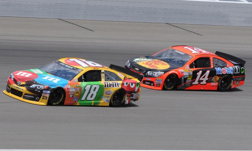 Rivals at the Sprint Cup level, both Busch and Stewart compete in numerous other levels as well
