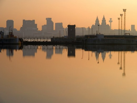 Liverpool from the Albert Dock