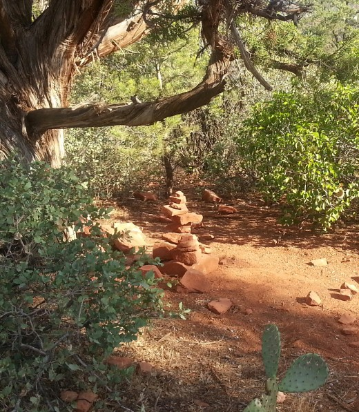 Anywhere in Sedona can be a good place to stop and breathe.