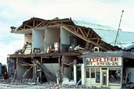 Coalinga, Ca USA earthquake. 1983.