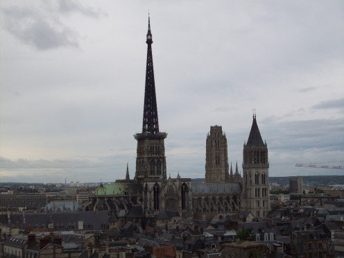 View of Rouen Cathedral