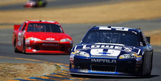 Johnson has a win and multiple high finishes at Sonoma. But he is winless at the Glen with several poor finishes