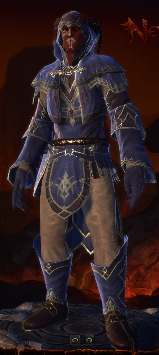 My Tiefling Control Wizard