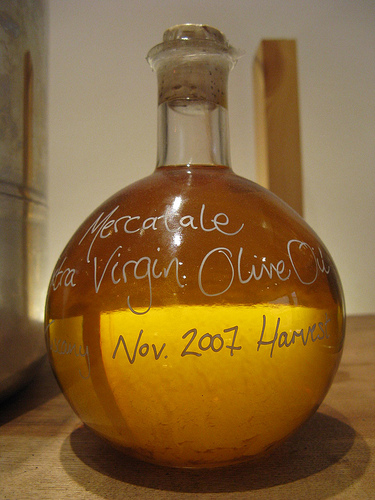 Oils such as olive oil have high contents of natural linoleic acid