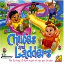 Life comes with its ups an downs. Chutes and Ladders was my favorite game as a child.