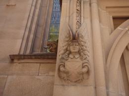 A Town Hall, Sydney, angel.