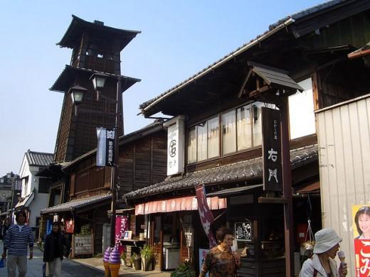 Streets of Kawagoe