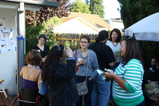 Joining local meetups or social gatherings helps you network faster in your new area