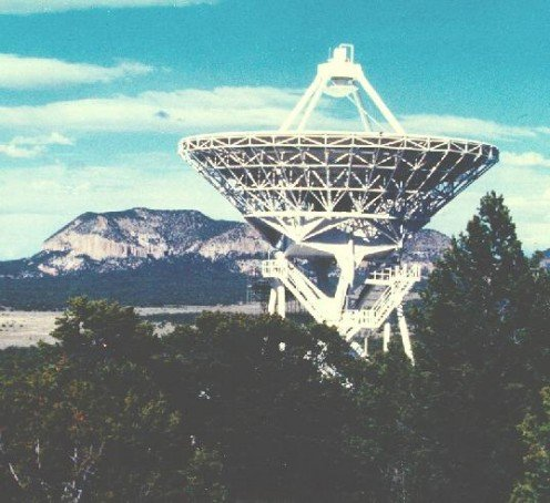 Very Long Baseline Array Radio Astronomy station in Pie Town NM.