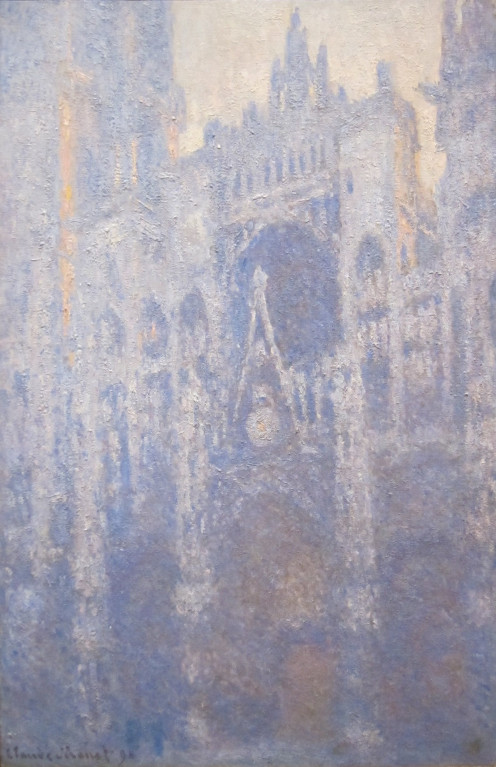 The Portal of Rouen Cathedral in Morning Light, by Claude Monet, 1894