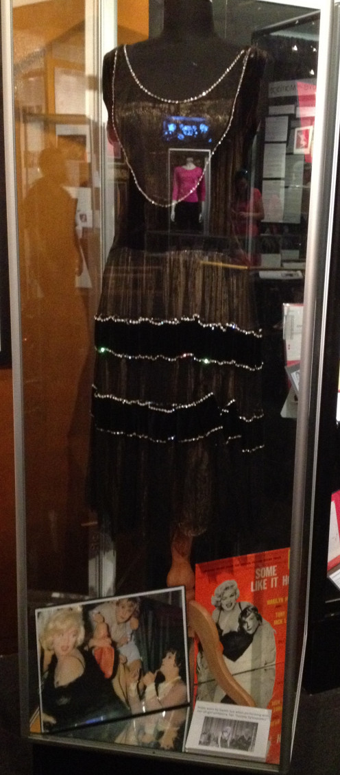 "Flapper dress from ""Some Like It Hot"""