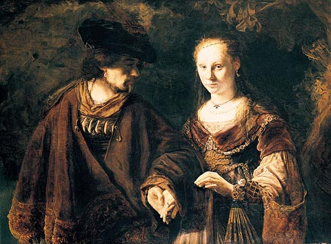 Rembrandt, 'The Betrothal'