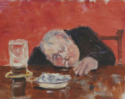 Drunk in a Liverpool Pub, by Roy Munday