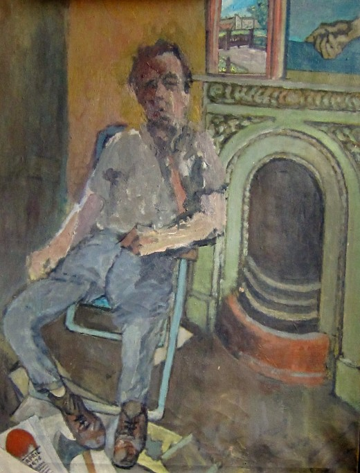 Self-portrait, Dick Young