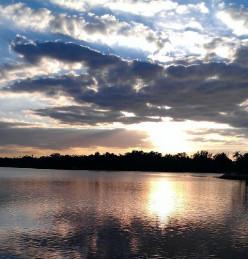 Sunset on Spring Bayou