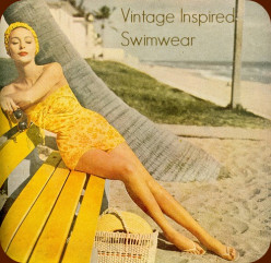 Vintage Inspired Swimwear