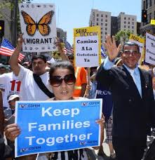 Both sides of the Immigration reform debate have been taking their cases to Washington and to State houses all over the Country in large and passionate demonstrations