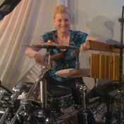 Me playing drums in my church in Hawaii