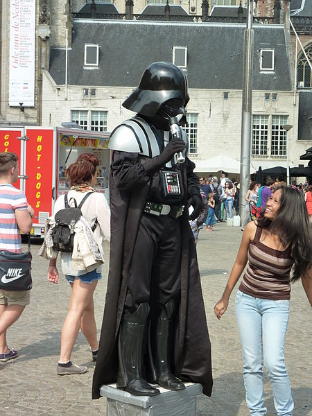 Maybe you can get Darth Vader's autograph!