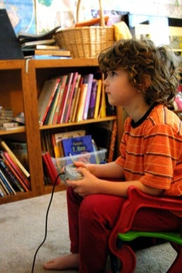 Video game addiction can start at an early age.