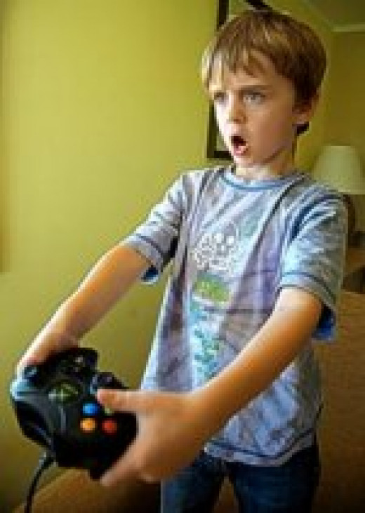 Those addicted to video games can develop anger issues.