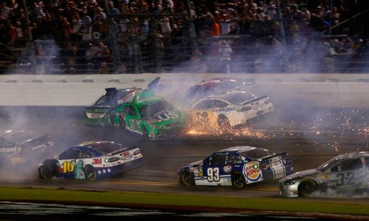 If a start and park car should cause a pileup like this during the Chase, the calls for change would be loud