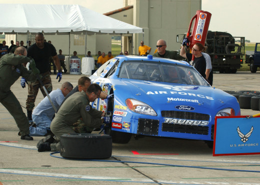 The cost of hiring a full-time pit crew encourages start and park at times. Could NASCAR help?