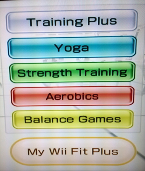 You have many fun and effective choices to enhance your exercises on Wii Fit Plus.  You can even create your own workout with a combination of these choices.