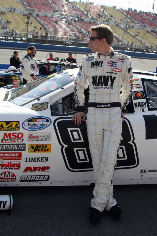 Brad Keselowski ran for JR Motorsports (a Hendrick company) before moving on to the Sprint Cup level