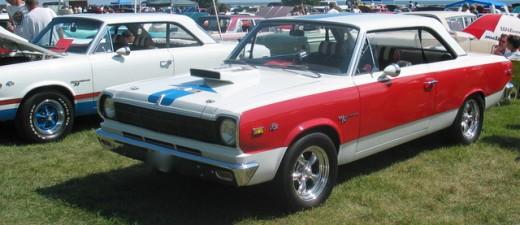 1969 AMC SC/Rambler A and B paint schemes together