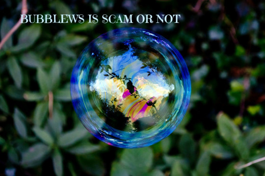 Bubblews Is Not like Soap Bubble