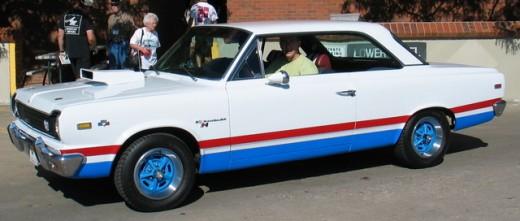 1969 AMC SC/Rambler B paint scheme